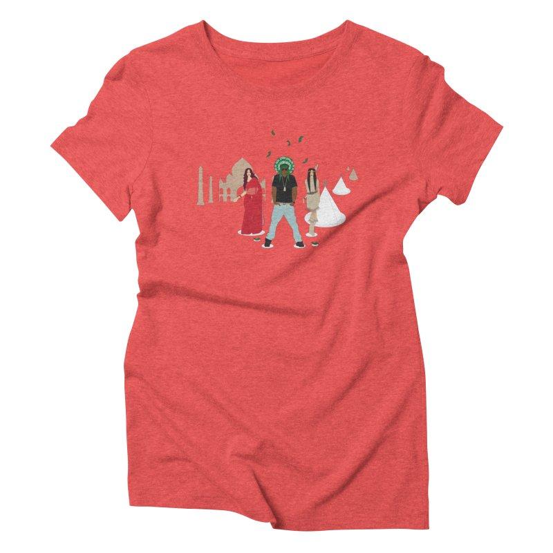 Chief Lots of Dough Women's Triblend T-shirt by Buckeen