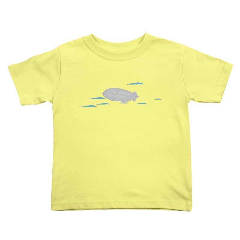 Tony's Vision Kids Toddler T-Shirt by Buckeen