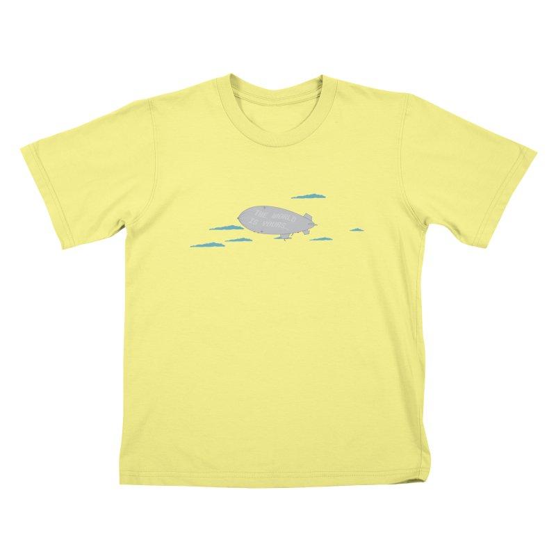 Tony's Vision Kids T-shirt by Buckeen