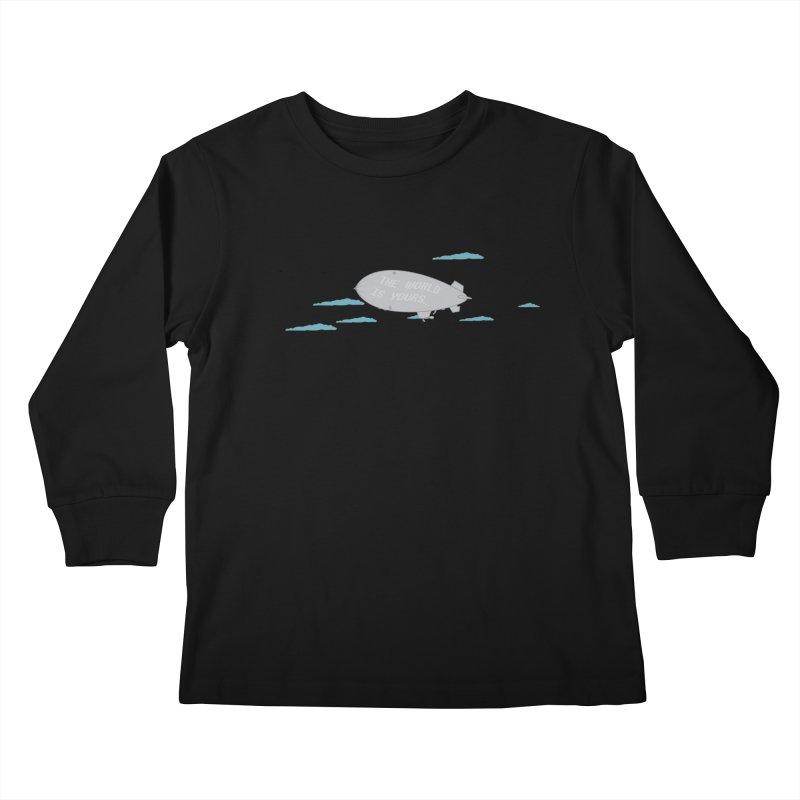 Tony's Vision Kids Longsleeve T-Shirt by Buckeen