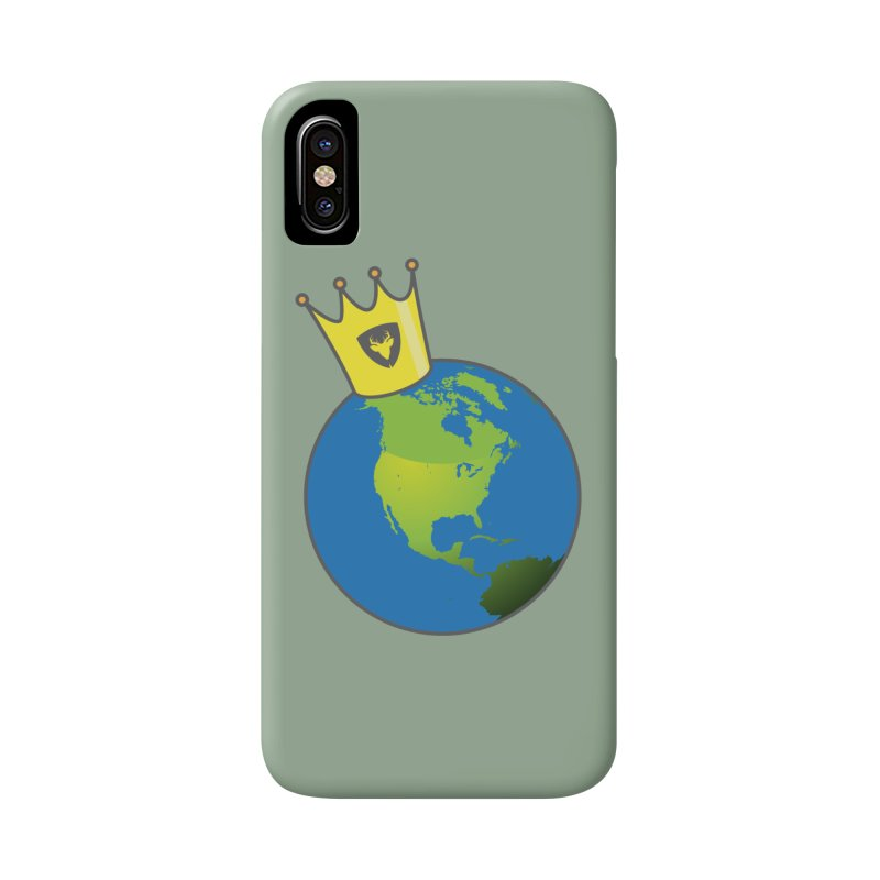 The World is Mine Accessories Phone Case by Buckeen