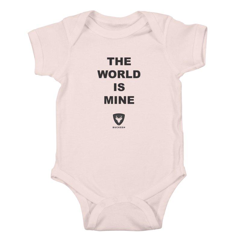 The World is Mine Kids Baby Bodysuit by Buckeen