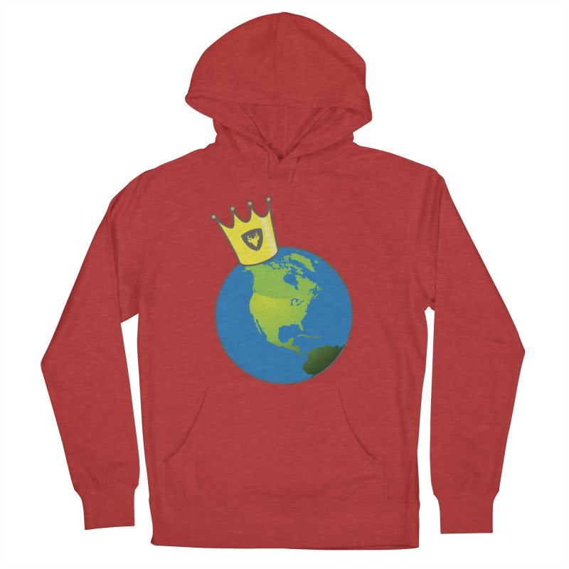 King of the World Women's Pullover Hoody by Buckeen