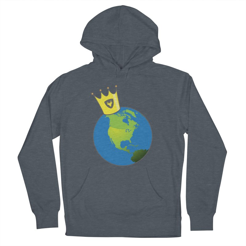 King of the World Men's Pullover Hoody by Buckeen