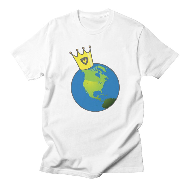 King of the World Men's T-Shirt by Buckeen