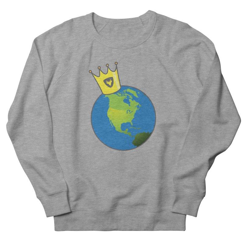 King of the World Women's Sweatshirt by Buckeen