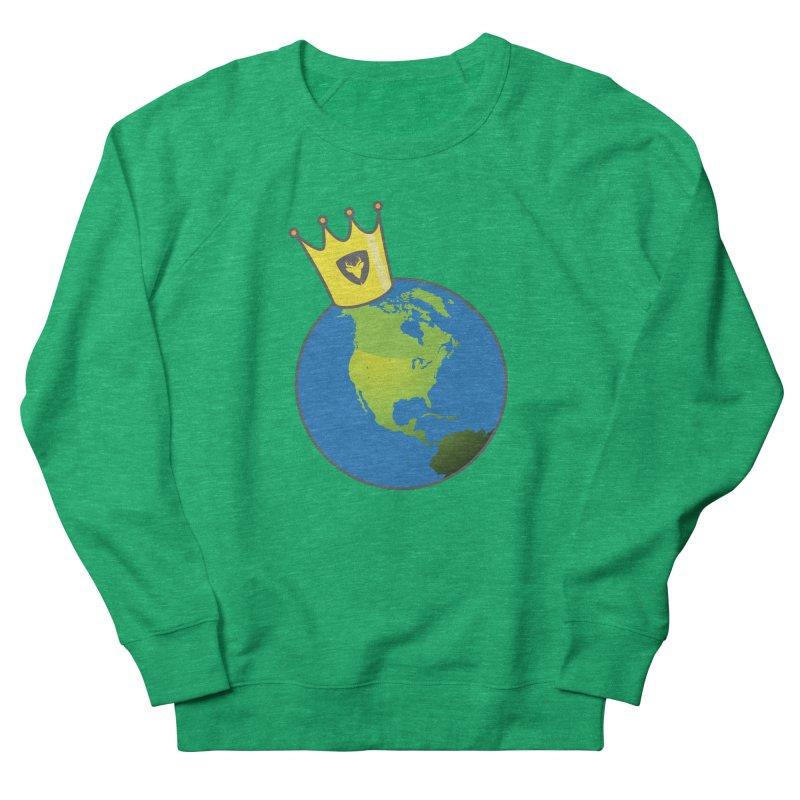 King of the World Men's Sweatshirt by Buckeen