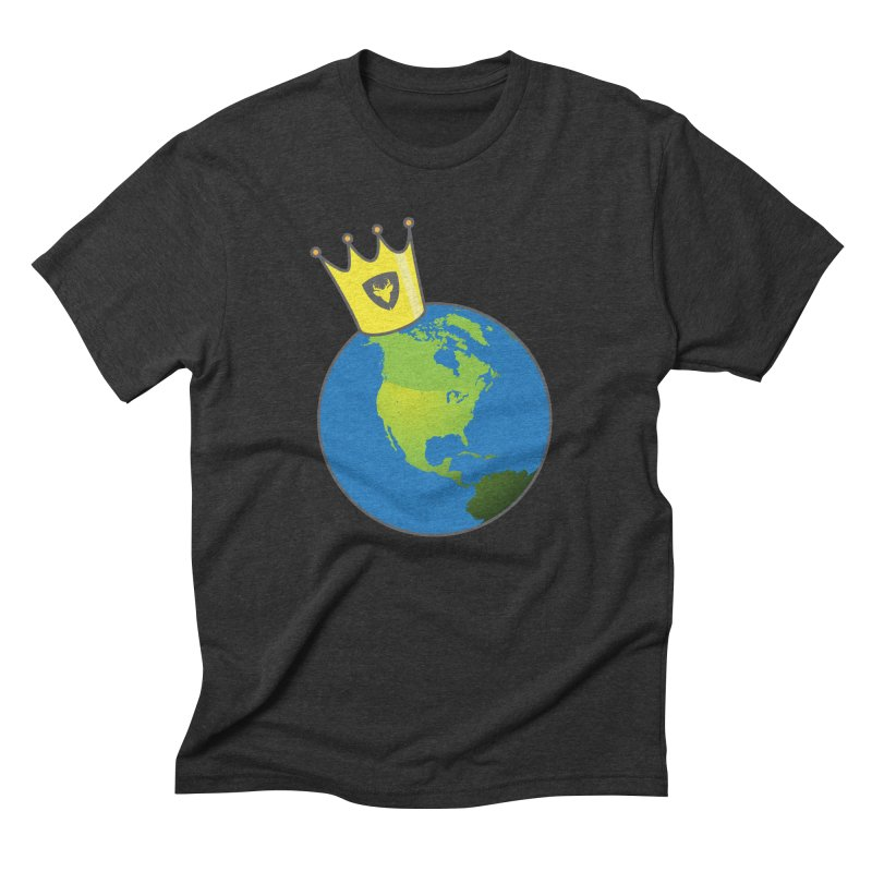 King of the World Men's Triblend T-Shirt by Buckeen