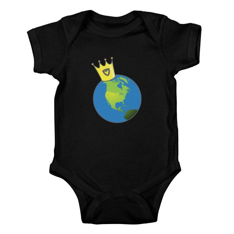 King of the World Kids Baby Bodysuit by Buckeen