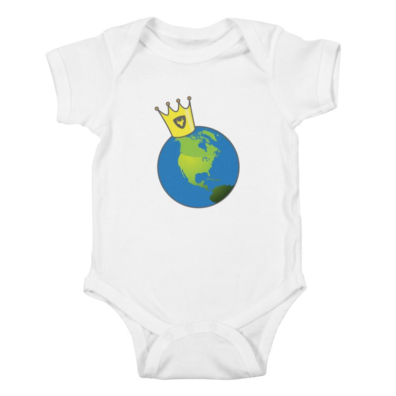 King of the World Kids Baby Bodysuit by Buckeen