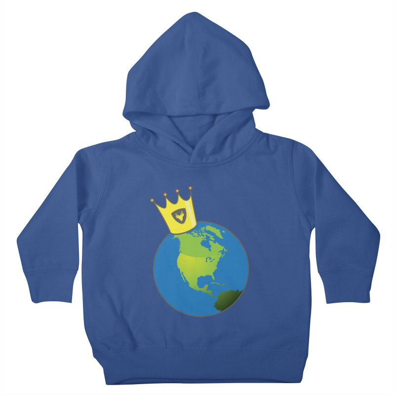 King of the World Kids Toddler Pullover Hoody by Buckeen