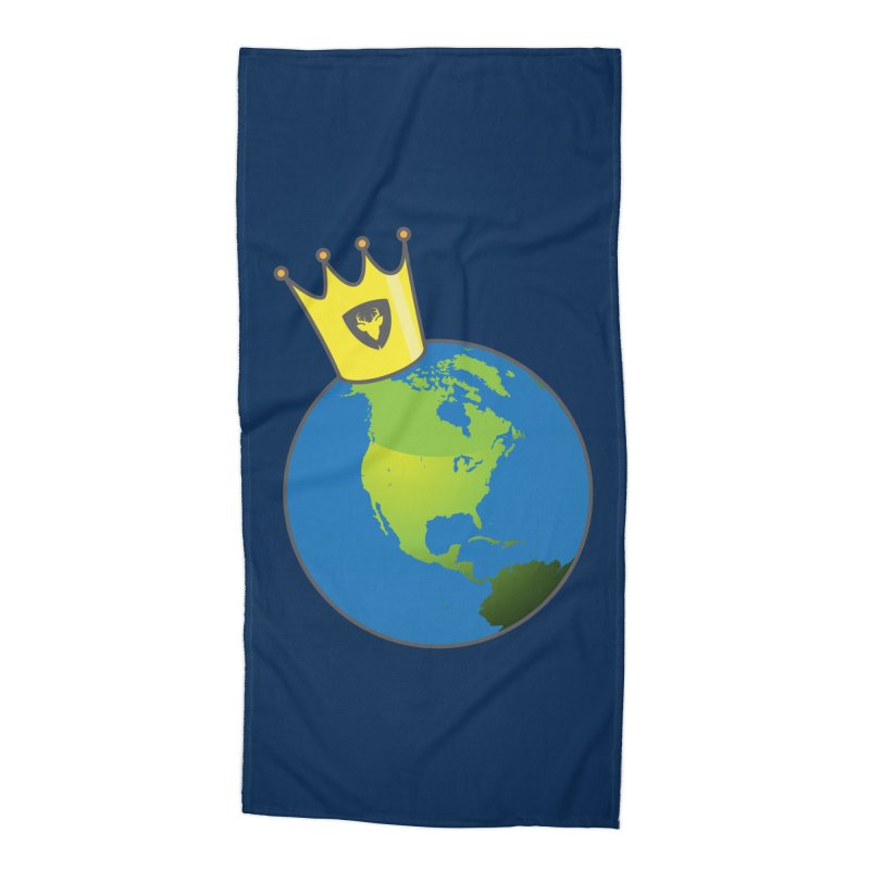King of the World Accessories Beach Towel by Buckeen