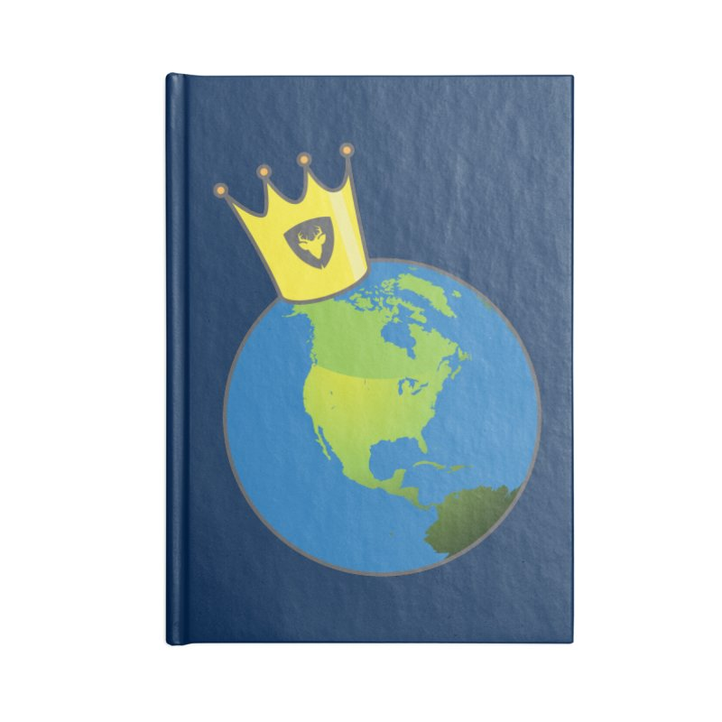 King of the World Accessories Notebook by Buckeen
