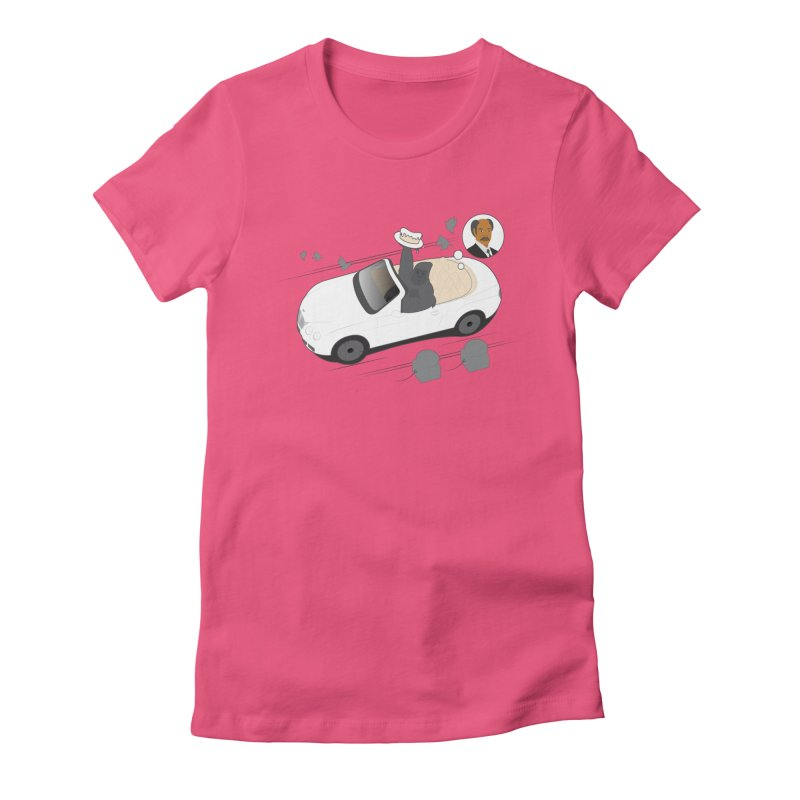 A G's Preference Women's Fitted T-Shirt by Buckeen