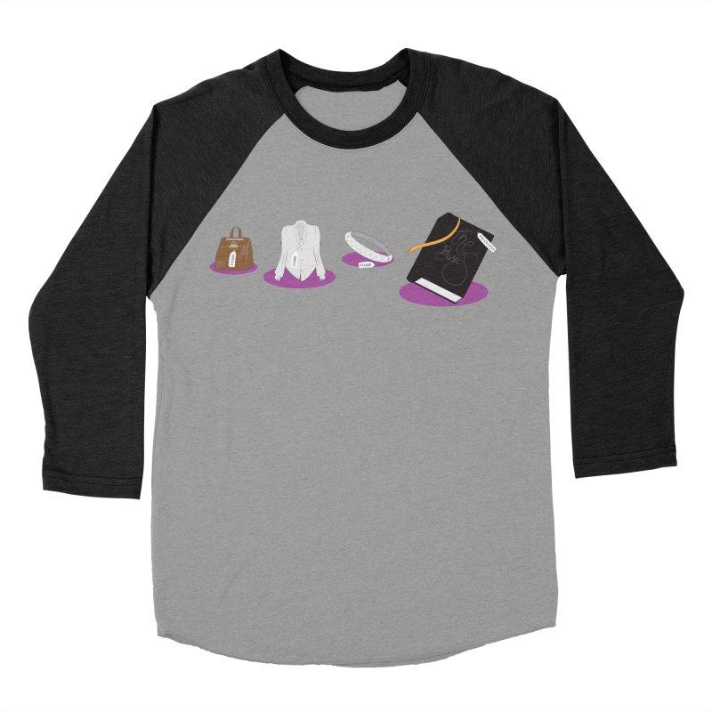 The Basics Women's Baseball Triblend T-Shirt by Buckeen
