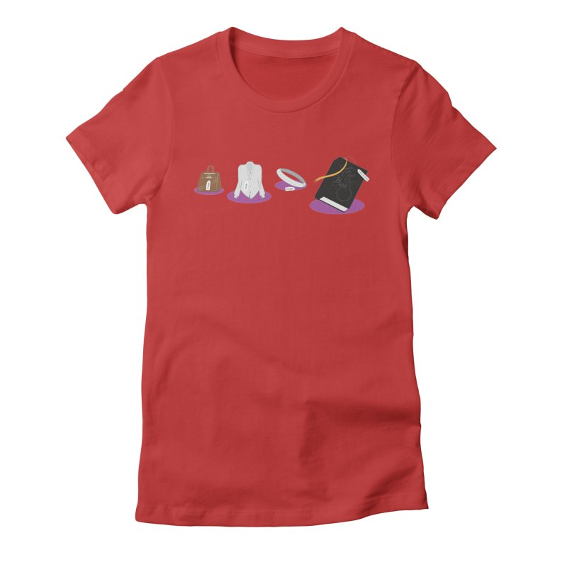 The Basics Women's Fitted T-Shirt by Buckeen