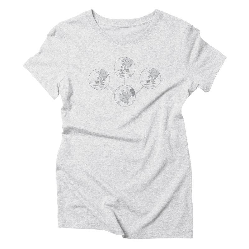 Good Day Women's Triblend T-Shirt by Buckeen