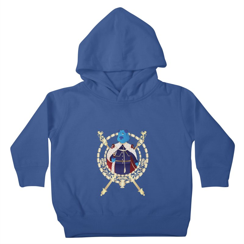 Royal Blue Kids Toddler Pullover Hoody by Buckeen