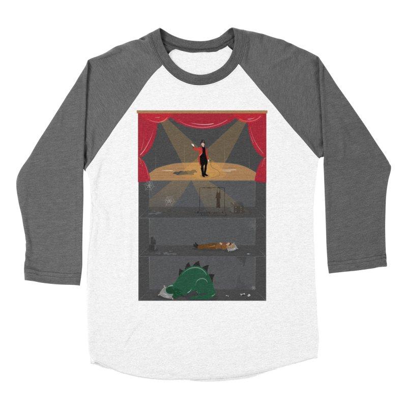 Superstar Women's Baseball Triblend T-Shirt by Buckeen
