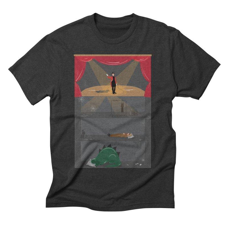 Superstar Men's Triblend T-shirt by Buckeen