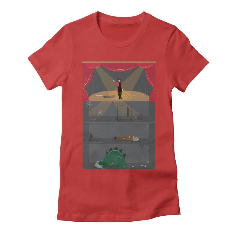 Superstar Women's Fitted T-Shirt by Buckeen