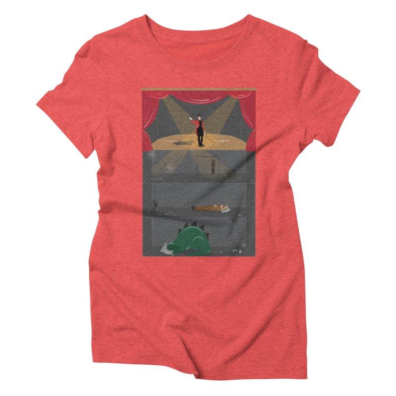 Superstar Women's Triblend T-shirt by Buckeen