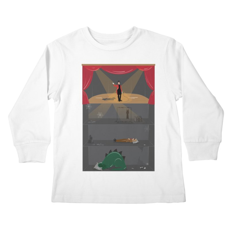 Superstar Kids Longsleeve T-Shirt by Buckeen