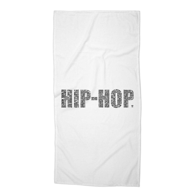 HIP-HOP LEGENDS! Accessories Beach Towel by Buckeen