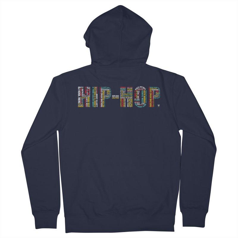 HIP-HOP LEGENDS! Men's French Terry Zip-Up Hoody by Buckeen