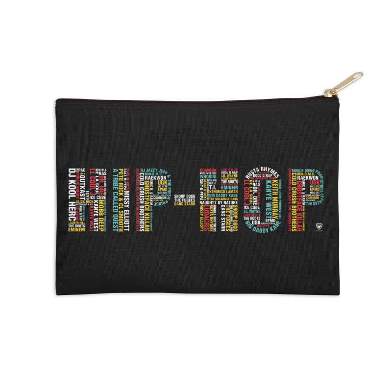 HIP-HOP LEGENDS! Accessories Zip Pouch by Buckeen