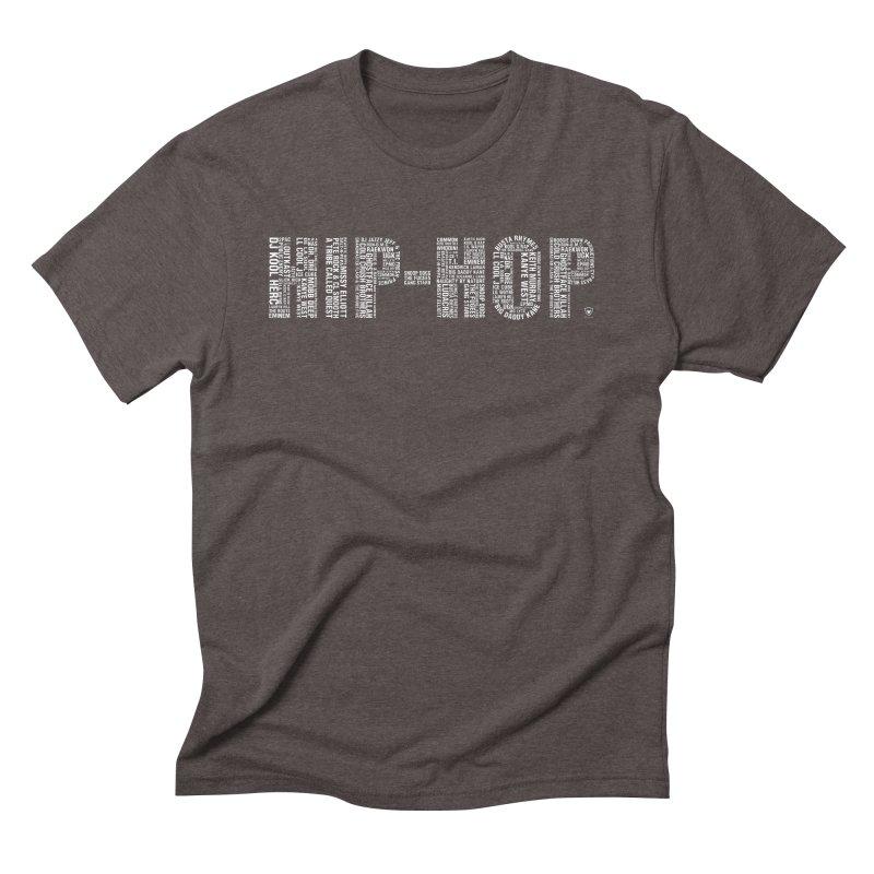 HIP-HOP LEGENDS Men's Triblend T-Shirt by Buckeen
