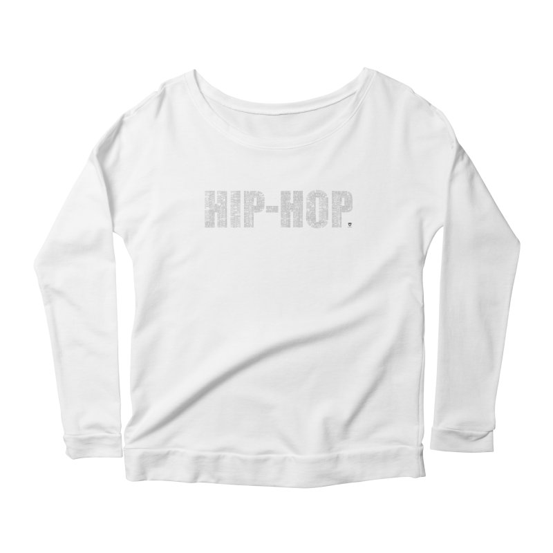 HIP-HOP LEGENDS Women's Scoop Neck Longsleeve T-Shirt by Buckeen