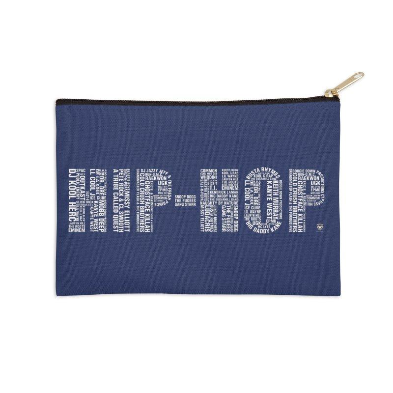 HIP-HOP LEGENDS Accessories Zip Pouch by Buckeen