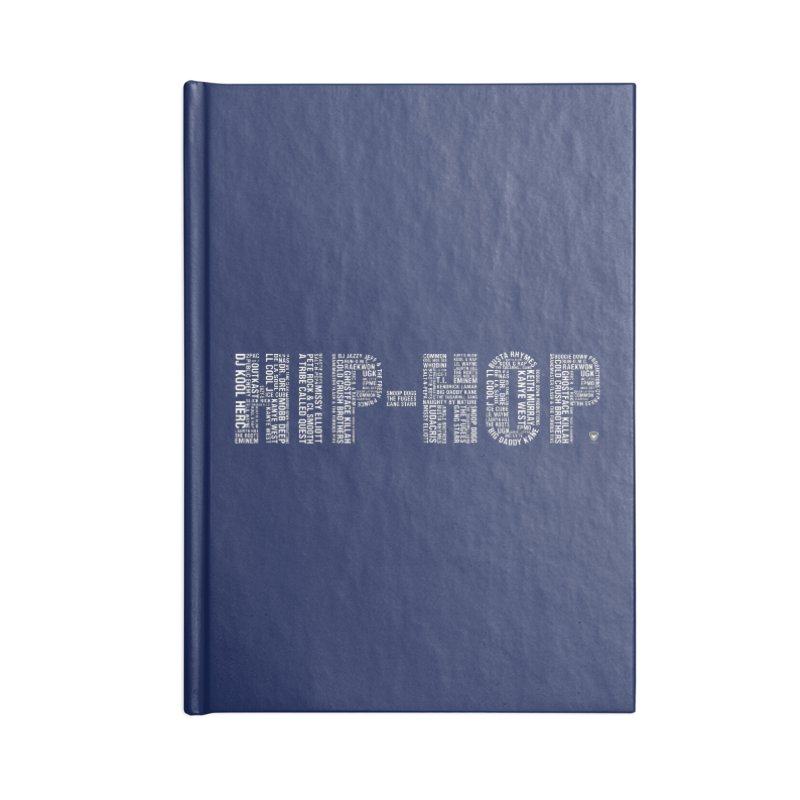 HIP-HOP LEGENDS Accessories Notebook by Buckeen