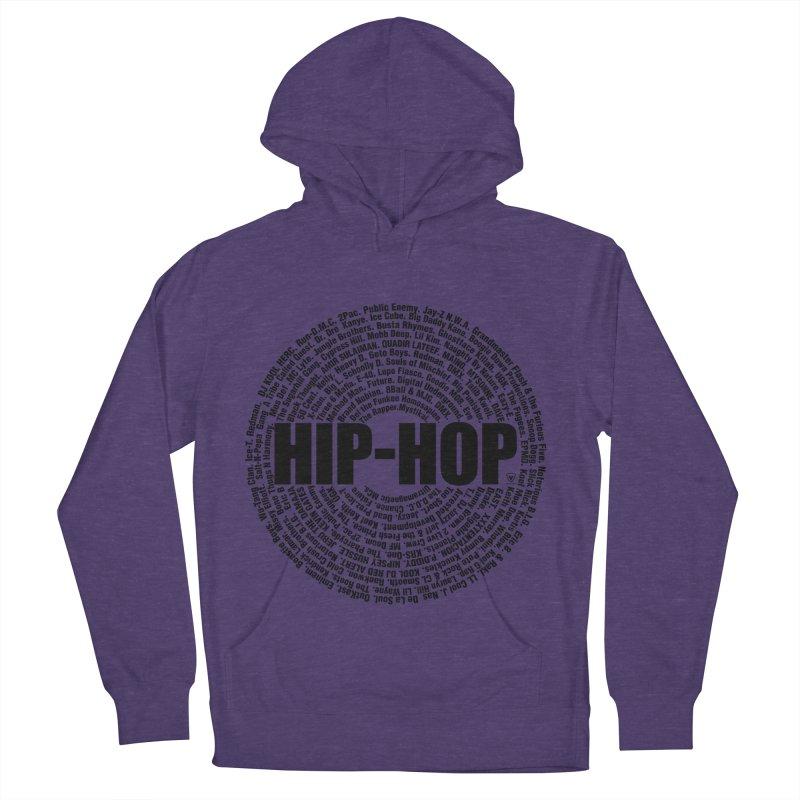 HIP HOP LEGENDS Men's French Terry Pullover Hoody by Buckeen