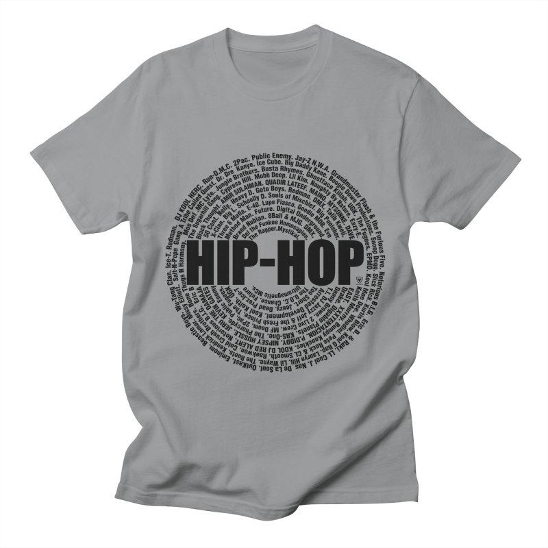 HIP HOP LEGENDS Men's Regular T-Shirt by Buckeen