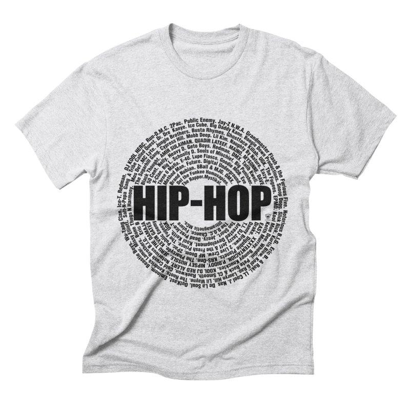 HIP HOP LEGENDS Men's Triblend T-Shirt by Buckeen