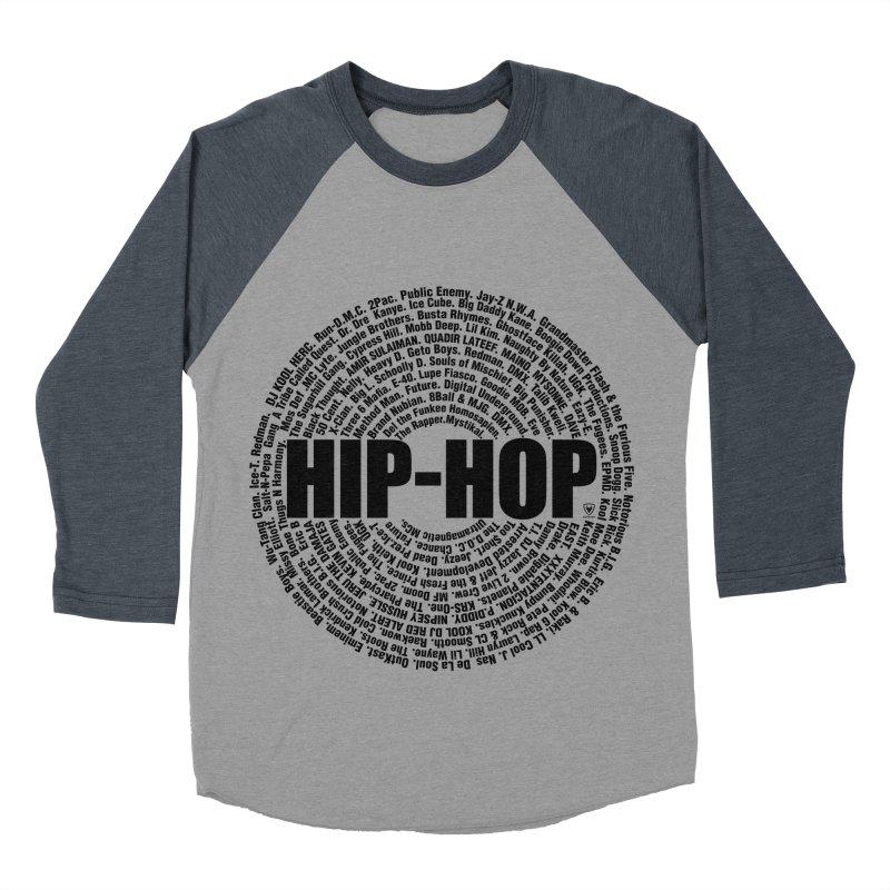 HIP HOP LEGENDS Women's Baseball Triblend Longsleeve T-Shirt by Buckeen