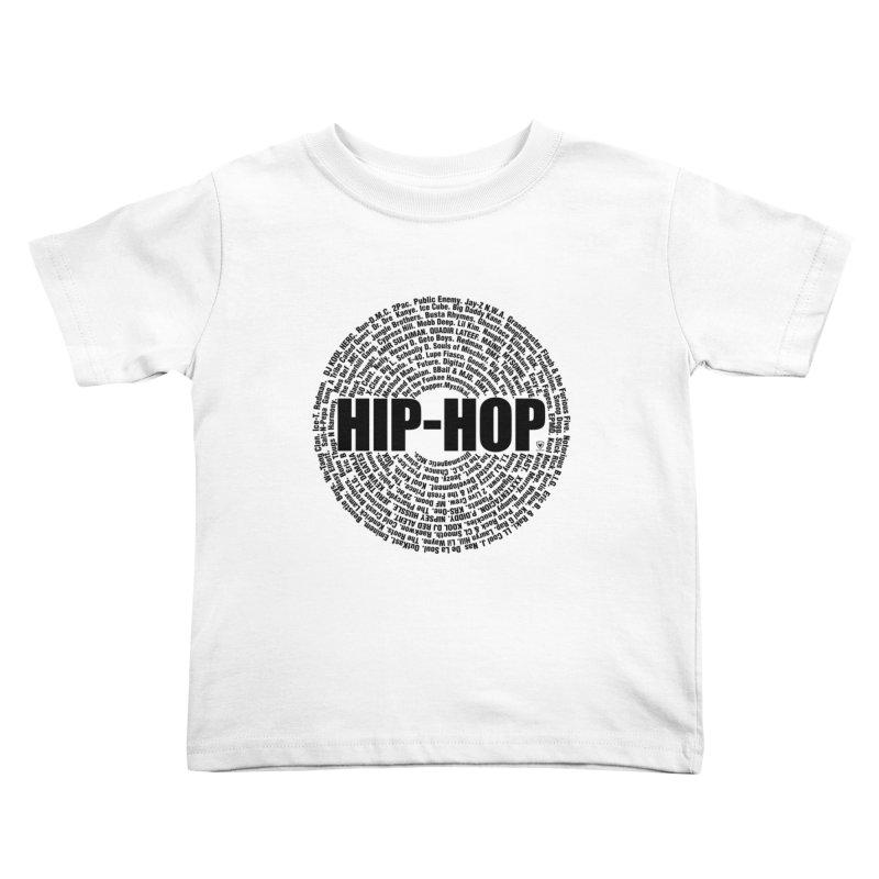 HIP HOP LEGENDS Kids Toddler T-Shirt by Buckeen