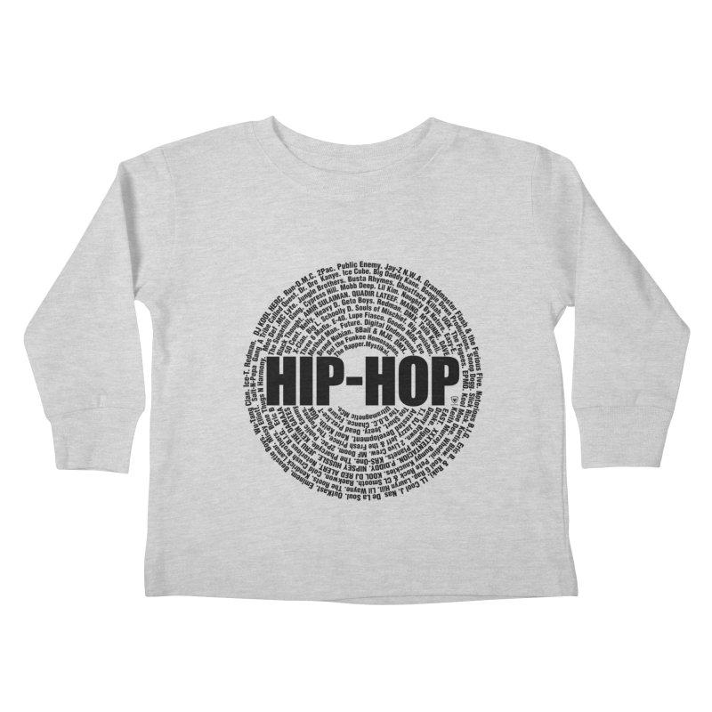 HIP HOP LEGENDS Kids Toddler Longsleeve T-Shirt by Buckeen