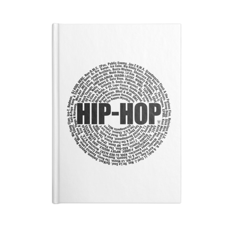 HIP HOP LEGENDS Accessories Notebook by Buckeen