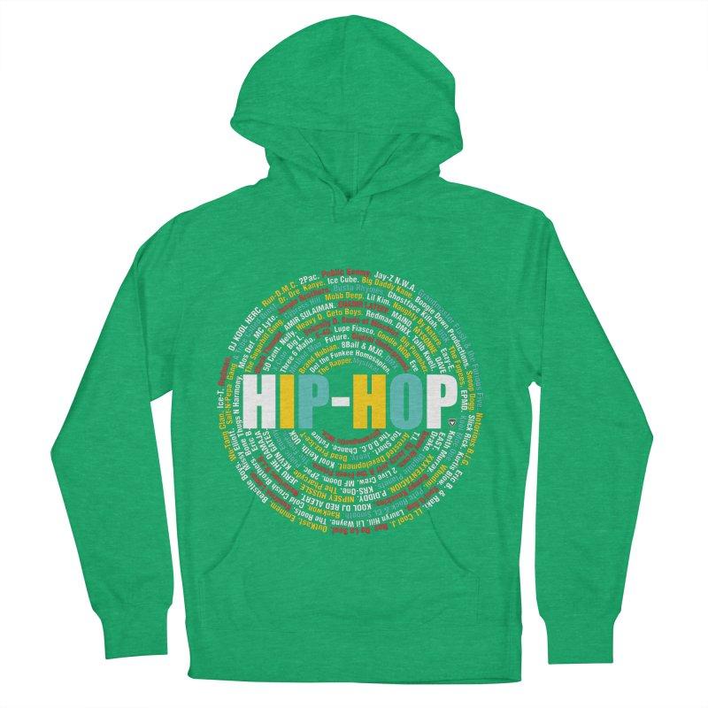 Hip-Hop, Legends, Mc's, Rap. Music Men's Pullover Hoody by Buckeen
