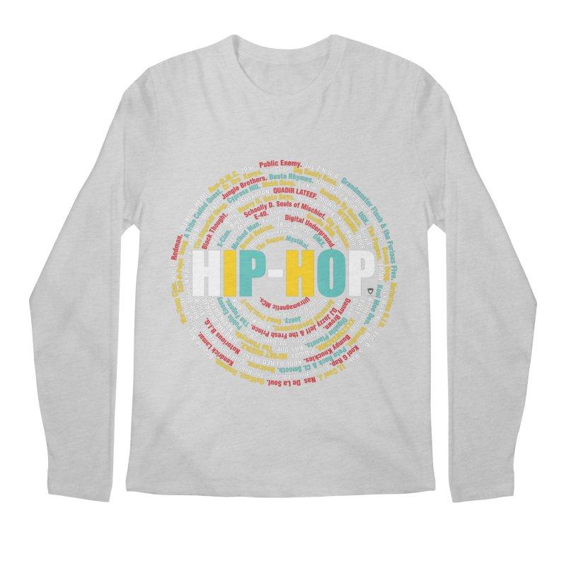Hip-Hop, Legends, Mc's, Rap. Music Men's Regular Longsleeve T-Shirt by Buckeen