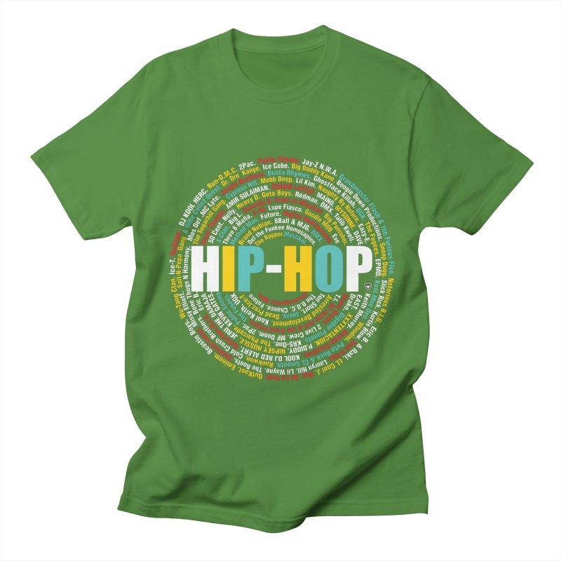 Hip-Hop, Legends, Mc's, Rap. Music Men's Regular T-Shirt by Buckeen