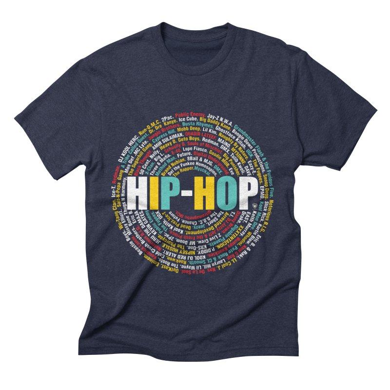 Hip-Hop, Legends, Mc's, Rap. Music Men's Triblend T-Shirt by Buckeen