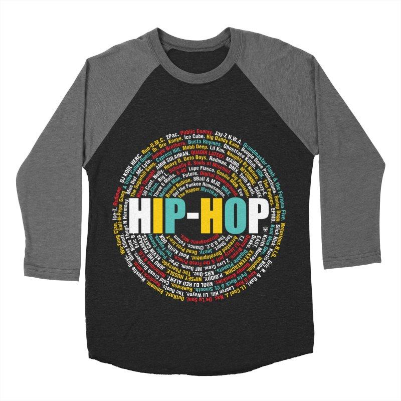 Hip-Hop, Legends, Mc's, Rap. Music Women's Baseball Triblend T-Shirt by Buckeen