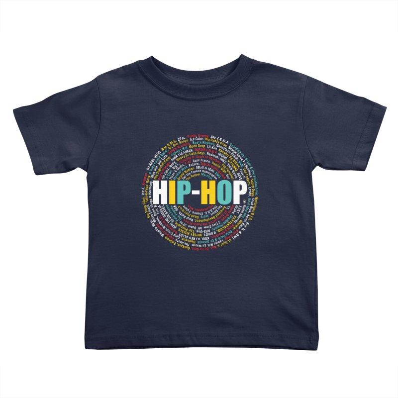 Hip-Hop, Legends, Mc's, Rap. Music Kids Toddler T-Shirt by Buckeen