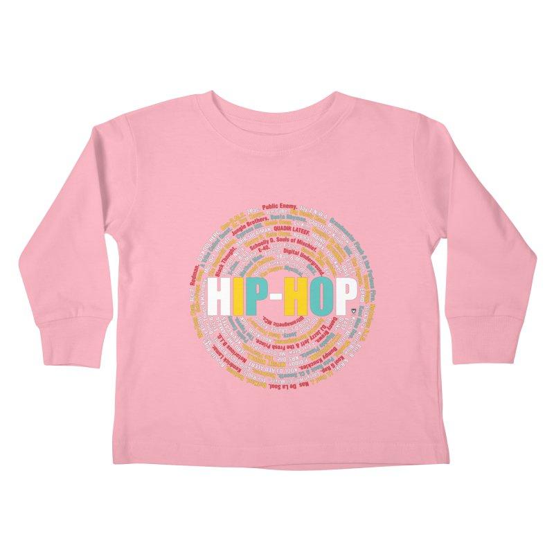 Hip-Hop, Legends, Mc's, Rap. Music Kids Toddler Longsleeve T-Shirt by Buckeen