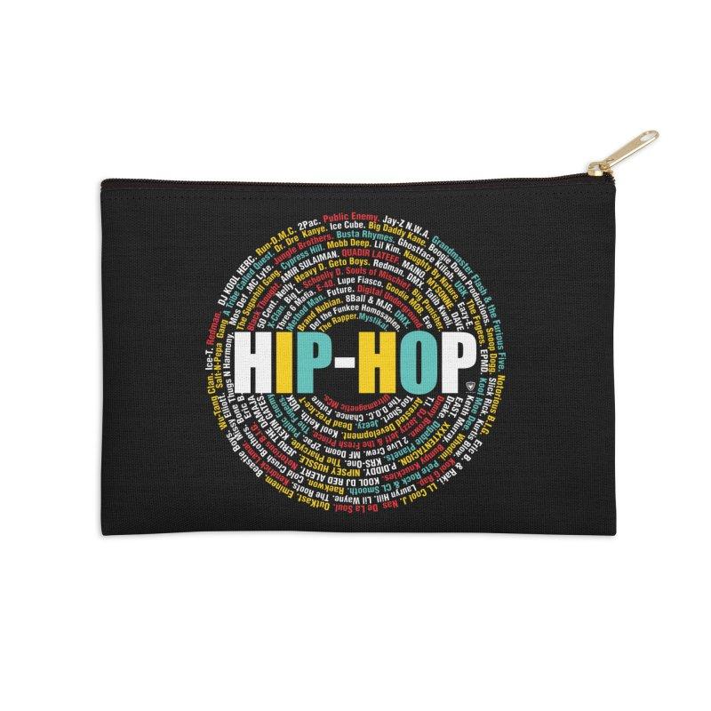 Hip-Hop, Legends, Mc's, Rap. Music Accessories Zip Pouch by Buckeen