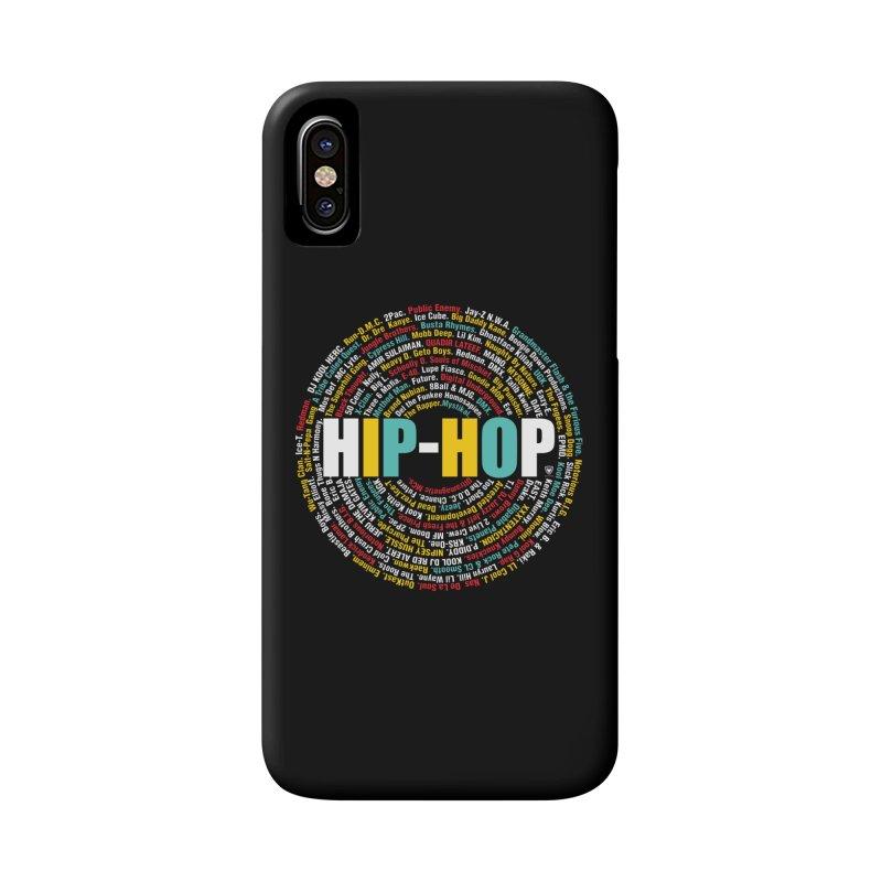 Hip-Hop, Legends, Mc's, Rap. Music Accessories Phone Case by Buckeen